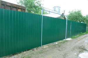 Забор из профнастила Александров