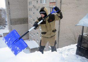 Очистка кровли от снега Александров