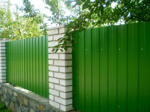 Забор из профлиста Александров