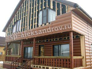 Фасадные работы в Александрове