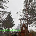 Удаление дерева в Арсаках. На половину готово =)